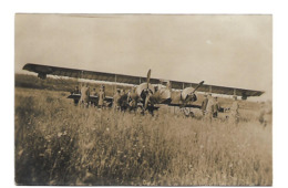 1916 ESCADRILLE DES CIGOGNES AVION CAPTURE PAR LES ALLEMANDS CARTE PHOTO AVIATION WW1  /FREE SHIPPING R - Sin Clasificación