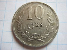 10 Centimes 1924 - Luxemburgo