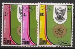 Soudan - 1976 - N°Yv. 290 à 292 - JO Montreal / Olympics - Neuf Luxe ** / MNH / Postfrisch - Summer 1972: Munich