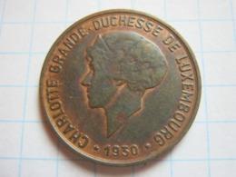 10 Centimes 1930 - Luxemburgo