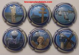 6 BELLES CAPSULES CHAMPAGNE GENERIQUE TOURISME EN CHAMPAGNE NEWS - Collections