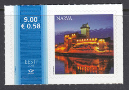 Estland 2008. Meine Marke. Narva. MNH. Pf. - Estland
