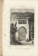 AFGHANISTAN TOMBEAU DU SULTAN MAHMUD A' GAZNA 1835 INCISIONE DI LEMAITRE - Prints & Engravings