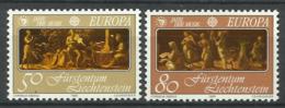 LIECHTENSTEIN  1985  EUROPA, MUSIC  SET MNH - Europa-CEPT