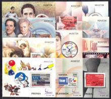 España. Spain. 2000. HB. Exposicion Mundial De Filatelia. ESPAÑA '2000 - Exposiciones Filatélicas