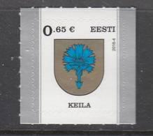 Estland 2016. Definitive Issue. Coat Of Arms Of Keila. MNH.. - Estland