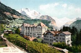 12963561 Wengen_BE Hotel National Mit Jungfrau Wengen_BE - BE Berne
