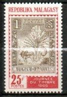 MADAGASCAR Journée Du Timbre 1966 N°422 - Madagaskar (1960-...)