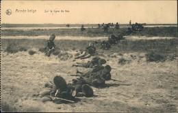Belgien Belque Armee Belge - Sur La Ligne De Feu - Erster Weltkrieg 1915 - Guerra 1914-18