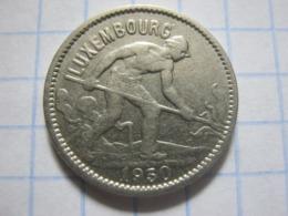 50 Centimes 1930 - Luxemburgo