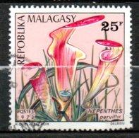 MADAGASCAR Fleur 1973 N°532 - Madagaskar (1960-...)