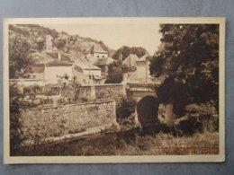 CPA 46 CASTELFRANC Vers Luzech - Le Petit Pont Sur Le Vert 1959 - Luzech