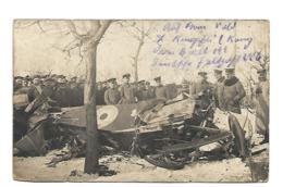 1917 AVION DETRUIT CARTE PHOTO AVIATION WW1 /FREE SHIPPING R - Sin Clasificación