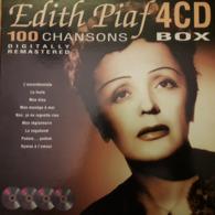 EDITH PIAF - 4 CD BOX - 100 CHANSONS - DIGITAL REMASTERED - Poco Usado Peu Utilisé - Musik & Instrumente