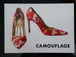 Camouflage Carte Postale - Werbepostkarten