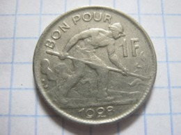 1 Franc 1928 - Luxemburgo