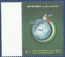 UAE UNITED ARAB EMIRATES MNH 2013 YAHSAT UAE'S COMMUNICATION SATELLITE SPACE - Ver. Arab. Emirate