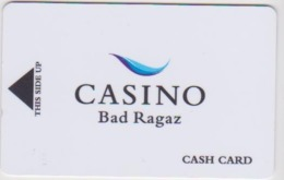 CASINO CARD - 429 - Switzerland - Casino Bad Ragaz - Casino Cards