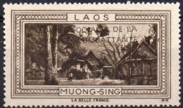 Vignette LAOS MUONG-SING (Oeuvres Sociales De La France Combattante) - Neuve Sans Charnière / Mint Never Hinged - Erinnophilie