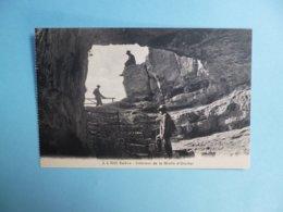 SALEVE  -  74  -  Intérieur De La Grotte D'Orjobet  -  Haute Savoie - France