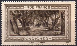Vignette INDE FRANCse PONDICHERY (Oeuvres Sociales De La France Combattante) - Neuve Sans Charnière / Mint Never Hinged - Tourism (Labels)