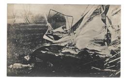 AVION DETRUIT CARTE PHOTO AVIATION WW1 /FREE SHIPPING R - Aviation