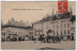 CPA   THONON-LES-BAINS  -  Place De L'Hotel De Ville - Thonon-les-Bains