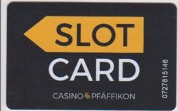 CASINO CARD - 434 - Switzerland - Casino Pfaffikon - Casino Cards