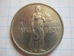 1 Franc 1939 - Luxemburgo