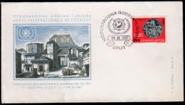 Yugoslavia Split 1967 / International Year Of Tourism - Holidays & Tourism