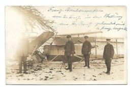 1917 AVION DETRUIT CARTE PHOTO AVIATION WW1 /FREE SHIPPING R - Aviation