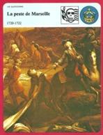 """La Peste De Marseille. 1720: Arrivée Du Cargo """" Grand Saint Antoine """". 1722: Environ 50 000 Morts. - Histoire"""
