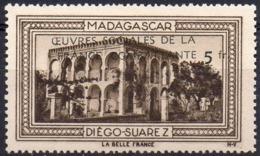 Vignette MADAGASCAR DIEGO-SUAREZ (Oeuvres Sociales De La France Combattante) - Neuve Sans Charnière - Commemorative Labels
