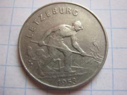 1 Franc 1953 - Luxemburgo