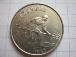 1 Franc 1955 - Luxemburgo