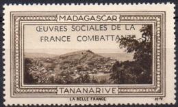 Vignette MADAGASCAR TANANARIVE (Oeuvres Sociales De La France Combattante) - Neuve Sans Charnière - Tourism (Labels)