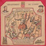 Protége Cahier Ancien Fin XIXéme Collection Serie INSTRUCTIVE  Dep Du LOIRET ( Délivrance D'Orléans ) - Book Covers