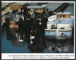1982  --  LES PENICHES A QUAI A SAINT JEAN DE LOSNE  3R531 - Vieux Papiers