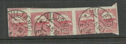 Estland Estonia 1920 Michel 27 Als 5-Streife NB! Unten Eingeschnitten - Estland