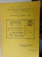ETUDE SUR LES CAMPS DE PRISONNIERS DE GUERRE (MILITAIRES ET CIVILS) ET LES INTERNES DE LA GUERRE 14/18 - Philately And Postal History