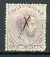 1872, AMADEO I, 1 PESETA USADO. BONITO - 1872-73 Reino: Amadeo I