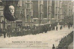 CPA N&b Funérailles De M Le Comte De Flandre 1905 - Koninklijke Families
