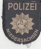 POLIZEI ABZEICHEN NIEDERSACHSEN Stoffaufnäher - Ecussons Tissu