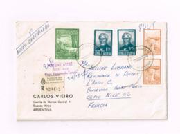 Lettre Recommandée De Buenos-Aires à Nice (FRance) - Argentine