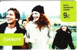 GREECE - People, Cosmote Prepaid Card 9 Euro, Exp.date 23/03/08, Used - Griekenland