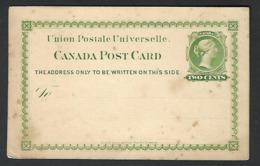 Blanco Canada Victoria  ( Klass  Heuroud  ) - 1860-1899 Regering Van Victoria