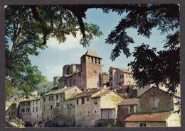 99707/ BROUSSE-LE-CHATEAU, Vieilles Maisons Et L'église - Frankreich