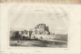 AFGHANISTAN CANDAHAR 1835 INCISIONE DI LEMAITRE - Prints & Engravings
