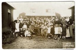 1914 Carte Photo - WWI - 1914-1918 - Village Leopold - Réfugiés Belges - Harderwijk - Photo Jos Nuss - 2 Scans - Harderwijk