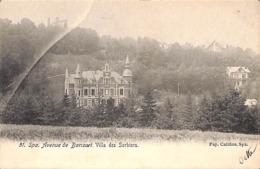 Spa - Avenue De Barisart. Villa Des Sorbiers (Pap. Califice....ce N'est Pas Un Pli...défaut à La Production/lentille ?) - Spa